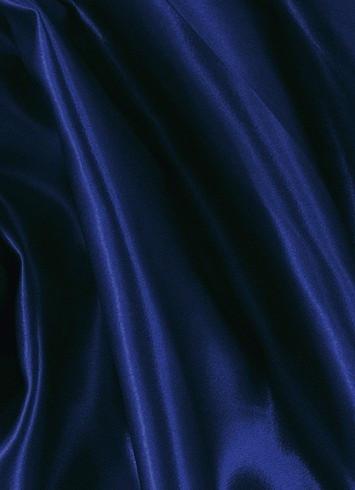 Indigo Navy Crepe Back Satin Fabric