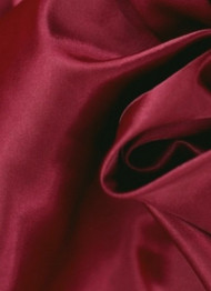 Bordeaux Crepe Back Satin Fabric