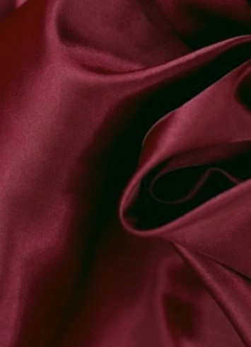 Burgundy Crepe Back Satin Fabric