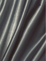Grey Crepe Back Satin Fabric