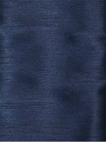 Navy Poly Shantung Fabric