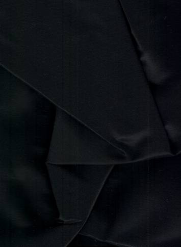 Black Iridescent Taffeta Fabric