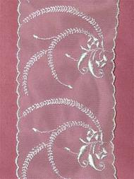 PS4201 White Shiffli Lace Trim