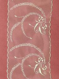 PS4201 Ivory Shiffli Lace Trim