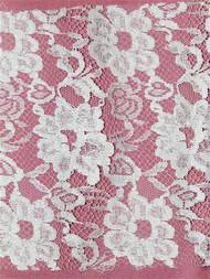 PB14024 White Alencon Lace