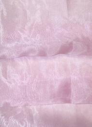 Ice Pink Crystal Organza