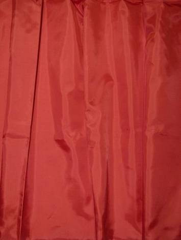 Turkey red Imperial Taffeta