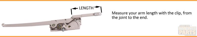Casement Operators Dual Arm TH Entrygard 15 Series
