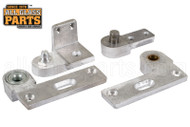 Commercial Door Pivot Set (Aluminum) (Left)