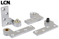 Commercial Door Pivot Set (LCN) (Silver) (Left)