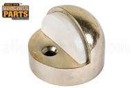Dome Floor Door Stop (Brass)