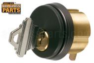 Commercial Door Cylinder w/ Key (Standard Size) (Bronze)