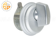 Thumb Turn Cylinder for Commercial Doors (Aluminum)