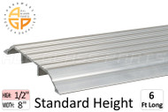 "Thresholds (Standard Profile) (1/2"" High) (8'' Width) (6' Length)"