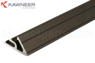 Door Stop (Kawneer) (Bronze Anodized) (Bevel Style)