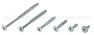 No. 12 Steel / Wood Screws - Flat Head (1'' Length)