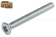 Steel Machine Screws (8-32 Thread, Flat Head) (3'' Length)