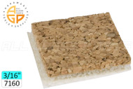 Shipping Pads (Cork w/non-adhesive backing) (3/16'') (7160 Pads)