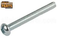 Steel Machine Screws (8-32 Thread, Round Head) (3'' Length)