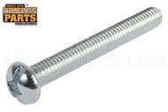 Steel Machine Screws (10-32 Thread, Round Head) (10-32x3 in.)