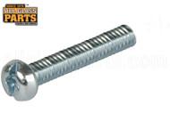 Steel Machine Screws (1/4-20 Thread, Round Head) (3'' Length) (100 Qty)