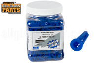 Blue Plastic Screw Anchors (No. 8) (900 Qty)