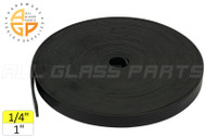 Setting Block Rubber (1'' Wide) (1/4'' Thick)