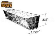 """Self-Adhesive Pile Weatherstripping (1-3/4"""" Backing)"""