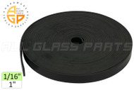 Setting Block Rubber (1'' Wide) (1/16'' Thick)
