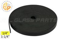 Setting Block Rubber (1-1/4'' Wide) (1/4'' Thick)