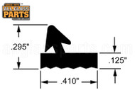 Glazing Spline (13/32'' Width) (9/32'' Height)