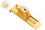 Showcase Stick On Lock (Gold)