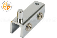 Pivot Door Hinge (Chrome)