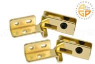 Glass Door Hinge (Brass)