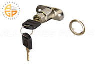 Track Plunger Lock (Nickel Plated)