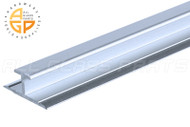 Glass Divider (Mirror Mounting Channel) (Bright Chrome)