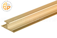 Glass Divider (Mirror Mounting Channel) (Bright Gold)
