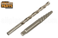 Spiral Extractor and Drill Bit - 537 Series Combo Pack (1/4'')