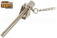 Sliding Glass Door Pin Lock (Mill)
