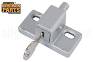Sliding Glass Door Lock (Keyed) (Mill)
