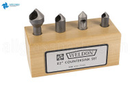 Weldon GC Countersink Set
