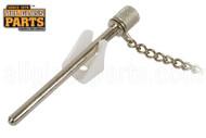 Sliding Window Pin-Style Night Lock (Zinc Plated)