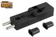 Patio Door Plunger Lock (Black)