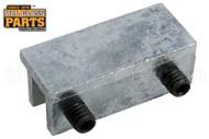 Sliding Window Track Lock (Tamper-Resistant) (Mill) (1-3/4'' Length)