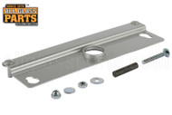 Removable Latch Lock Protector for Double Acting Doors (Aluminum)