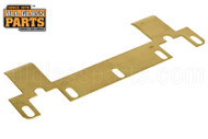 Out-Swing Adjustable Strike Plate (Satin Brass)