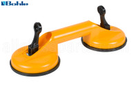 Suction Lifter (2 Cup, Lever Style) (Bohle 'Veribor') (Yellow)