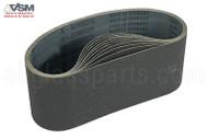 Sanding & Polishing Belts (4'' x 24'') (220 Grit)