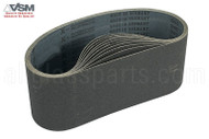 Sanding & Polishing Belts (4'' x 24'') (80 Grit)