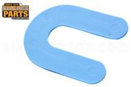 Horseshoe Shims (Blue) (Size: 1/16'' x 3'' )